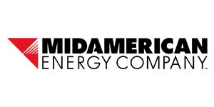 Image of the MidAmerican Energy Logo