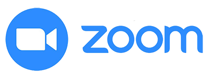 Image of the Zoom logo